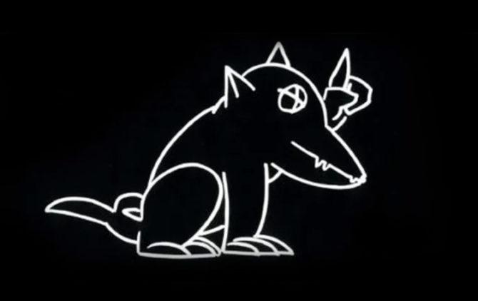 Man bijt hond